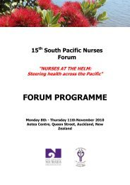 Challenges and Actions for Nursing and Nurses - Pacific Health ...