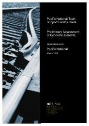 Appendix M - Economic Assessment - Pacific National