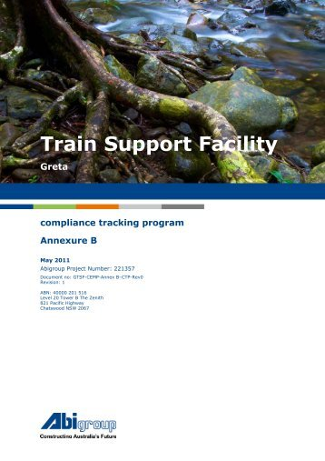 Train Support Facility - Pacific National