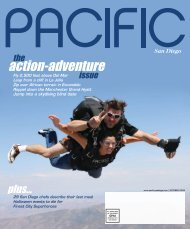Action-adventure The Issue - Pacific San Diego Magazine