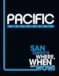 WHERE, - Pacific San Diego Magazine