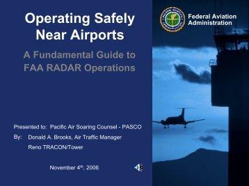Reno Air Traffic Control - Pacific Soaring Council