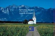 Spirituelles Wandern Landeck-Einsiedeln