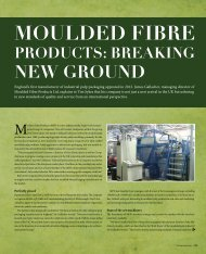 Moulded Fibre Products - Packaging Europe