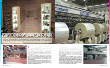 A SUCCESSFUL MERGER - Packaging Europe