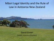 Genesis of the Rule of Law - PacLII
