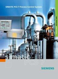 Simatic PCS7 Brochure - Process Control and Instrumentation