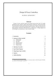 Design Of Fuzzy Controllers - Process Control and Instrumentation