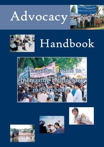 Advocacy Handbook - Pact Cambodia