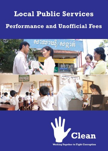 Local Public Services Performance and Unofficial ... - Pact Cambodia