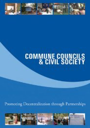 Commune Council and civil society - Pact Cambodia