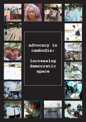 Advocacy in Cambodia: Increasing Democratic ... - Pact Cambodia