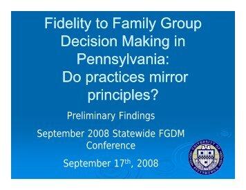 Full PowerPoint - Pennsylvania Child Welfare Resource Center