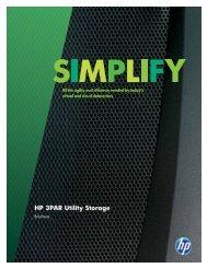 HP 3PAR Utility Storage - PMB Help > Getting Started