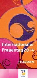 Internationaler Frauentag 2014.indd - Stadt Paderborn