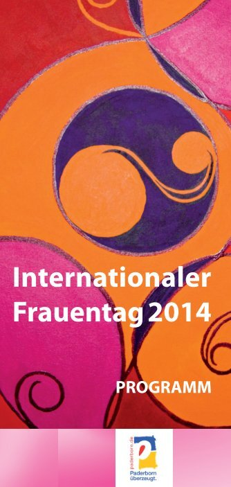 Internationaler Frauentag 2014.indd - Stadt Paderborn