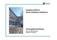Vortrag Herr Lebsanft - Stadt Paderborn