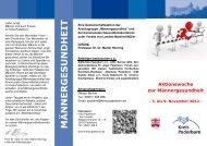 Flyer Männergesundheit doc Oktober - Kreis Paderborn