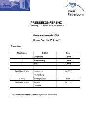 Pressekonferenz Unser Dorf hat Zukunft 2008 _3_ 1 - Paderborner ...