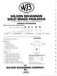2010 - Wilson Bohannan Padlocks - Page 7