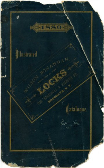 1880 - Wilson Bohannan Padlocks