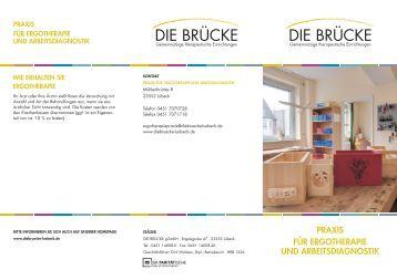 praxis für ergotherapie und arbeitsdiagnostik - DIE BRÜCKE Lübeck