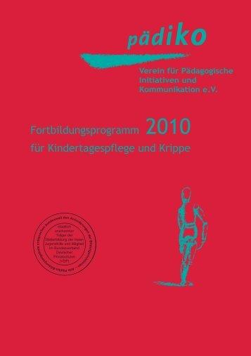 Programm_2010:Programm 2009 - Pädiko eV