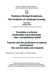 pobierz/download - Polska Asocjacja Ekologii Krajobrazu