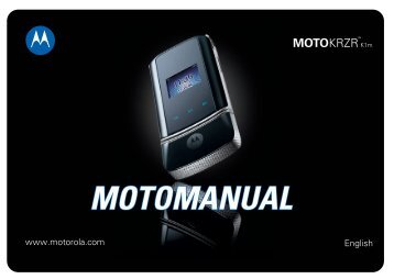 MOTOMANUAL - Page Plus Cellular