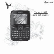 guía del usuario Torino S2300 - Kyocera Wireless
