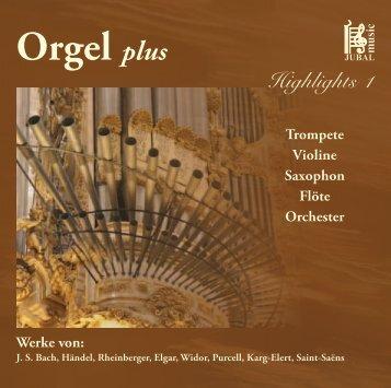 Orgel plus - M. Jung