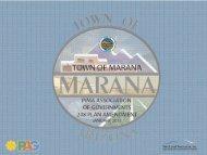 Marana208 Presentation 01-31-2011 - Pima Association of ...