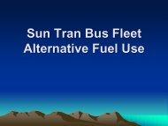 Presentation Sun Tran Fuels 03-13-2012