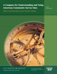 General Data Users Handbook - U.S. Census Bureau