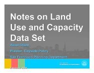 Aksel Olsen, Planner, Citywide Policy San Francisco Planning ...