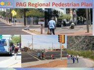 PAG Regional Pedestrian Plan