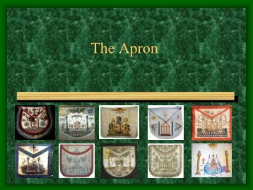 The Apron [PDF] By Jeff Garringer Size - Grand Lodge of Pennsylvania