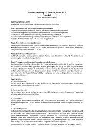 Protokol der Vollversammlung vom 25.04.2013 - Pahkiel.de