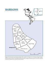 Barbados - Health in the Americas 2007 - Volume II - PAHO/WHO