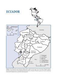 Ecuador - Health in the Americas 2007 - Volume II - PAHO/WHO
