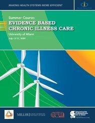 EVIDENCE BASED CHRONIC ILLNESS CARE - PAHO/WHO