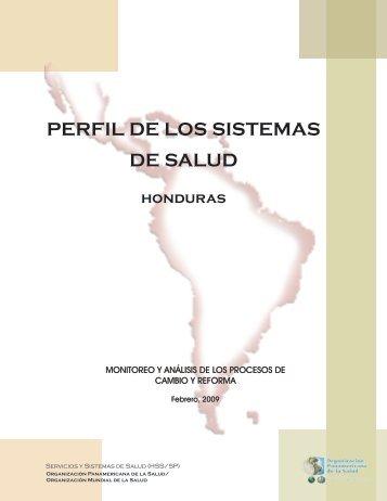 Perfil del Sistema de Salud de Honduras - PAHO/WHO