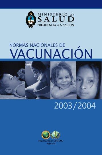 VACUNACIÓN - PAHO/WHO
