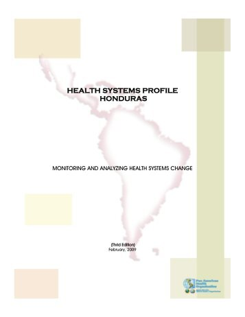 HEALTH SYSTEMS PROFILE HONDURAS - PAHO/WHO