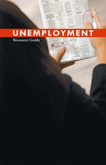 Unemployment Resource Guide - Pennsylvania House Democrats