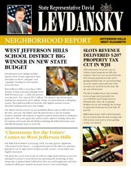 neighborhood report jefferson hills - Pennsylvania House Democrats