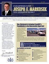 314 Irvis Office Building PO Box 202025 Harrisburg - Pennsylvania ...