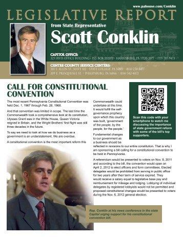 Rep. Conklin - Pennsylvania House Democrats