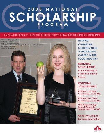 2008 Scholarship Brochure