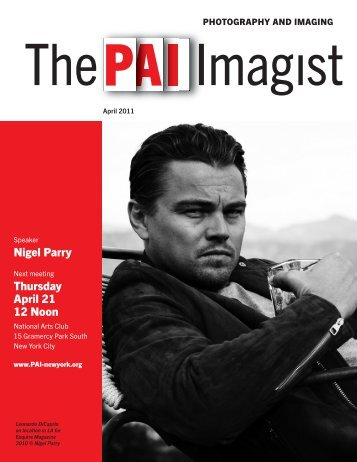 Nigel Parry Thursday April 21 12 Noon - Pai-newyork.org